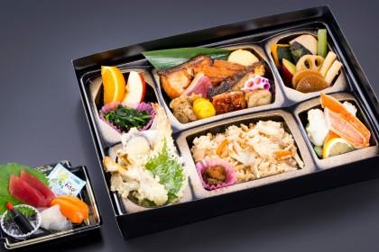 季節会席弁当「万両(まんりょう)」3000円(税抜)
