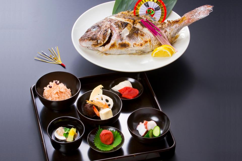 お食い初め膳 5000円(税抜)