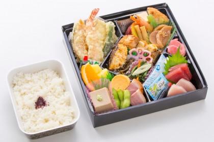 菊水の会席弁当「29品」1800円(税抜)