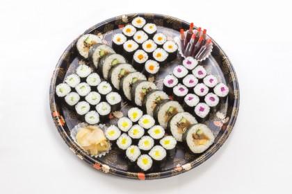 巻き寿司盛合せ3000円(税抜)